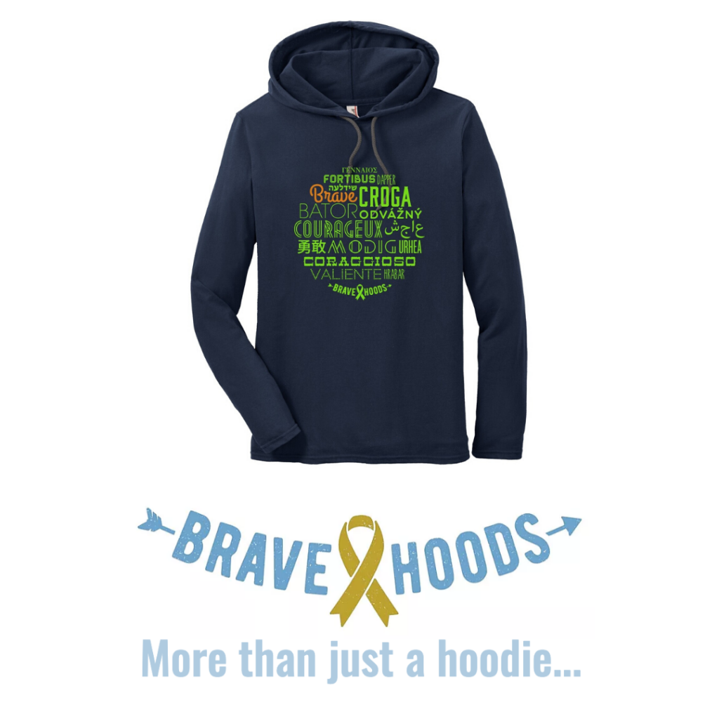 Special-edition There With Care hoodie by Bravehoods